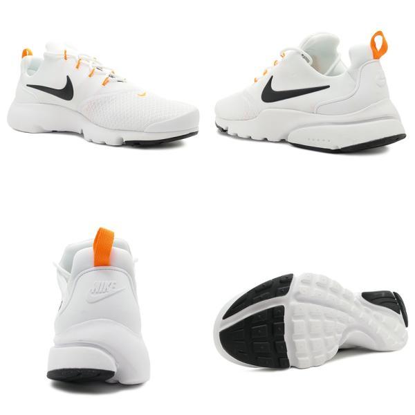 スニーカー ナイキ NIKE プレストフライJDI ホワイト/ブラック/オレンジ メンズ レディース シューズ 靴 18FA|mexico|03