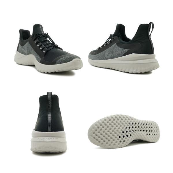 スニーカー ナイキ NIKE リニューライバルシールド ブラック/メタリックシルバー メンズ レディース シューズ 靴 18HO|mexico|03