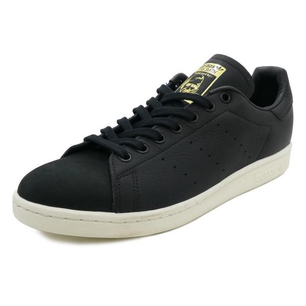 スニーカー アディダス adidas スタンスミスプレミアム ブラック/ホワイト メンズ レディース シューズ 靴 18FW|mexico