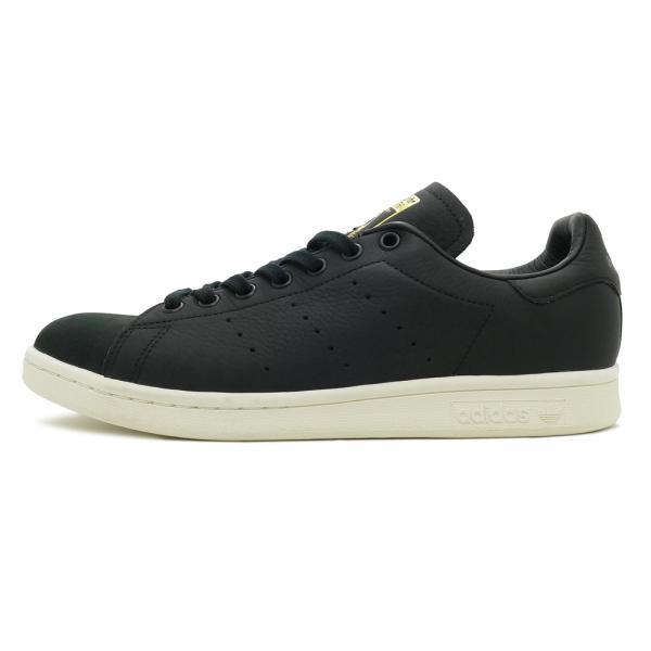 スニーカー アディダス adidas スタンスミスプレミアム ブラック/ホワイト メンズ レディース シューズ 靴 18FW|mexico|02