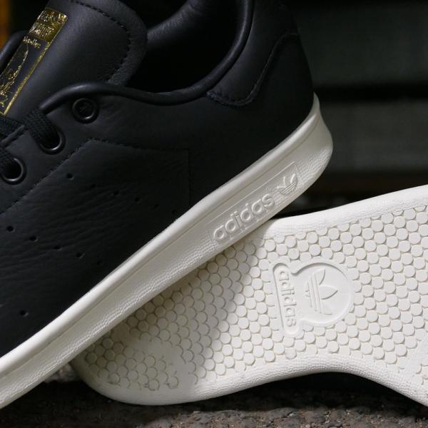 スニーカー アディダス adidas スタンスミスプレミアム ブラック/ホワイト メンズ レディース シューズ 靴 18FW|mexico|05