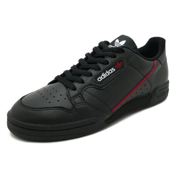 スニーカー アディダス adidas コンチネンタル80 ブラック/ホワイト メンズ レディース シューズ 靴 18FW|mexico