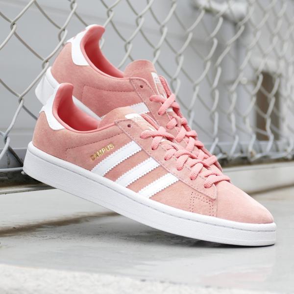 adidas Originals CAMPUS W【アディダス オリジナルス キャンパスウィメンズ】tactile rose/ftwr white(タクティルローズ/ランニングホワイト)|mexico|04