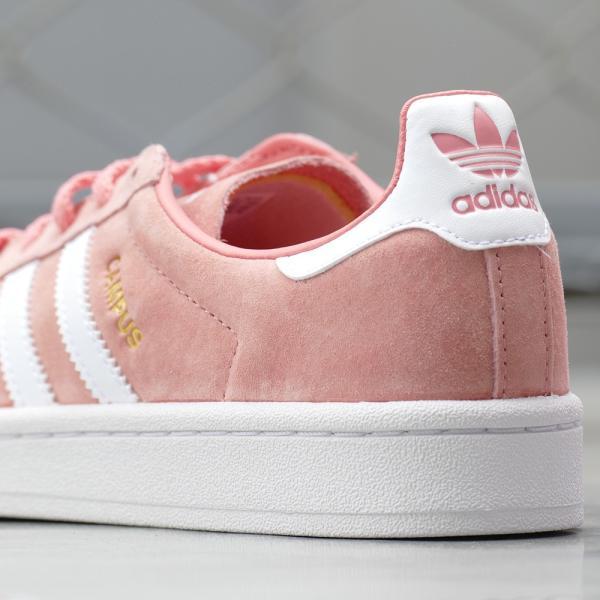 adidas Originals CAMPUS W【アディダス オリジナルス キャンパスウィメンズ】tactile rose/ftwr white(タクティルローズ/ランニングホワイト)|mexico|06