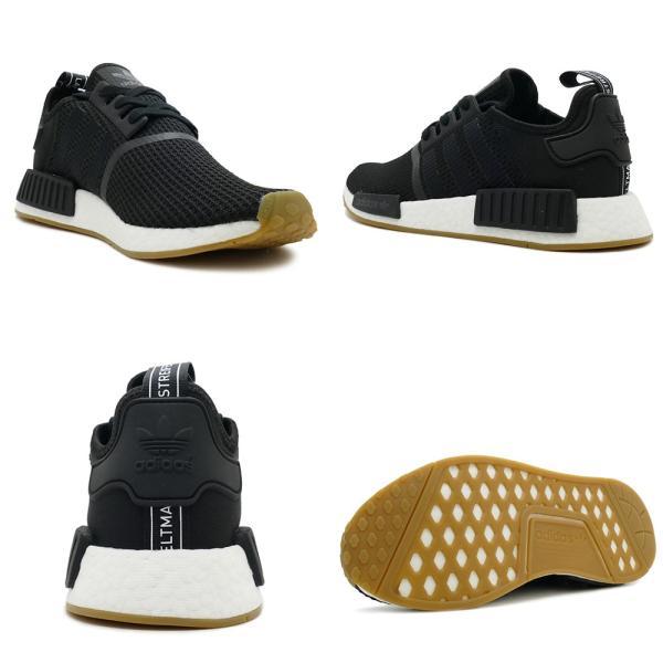 adidas Originals NMD R1 アディダス オリジナルス エヌエムディーR1 core black/core black/gum コアブラック/コアブラック/ガム B42200 18FW mexico 03