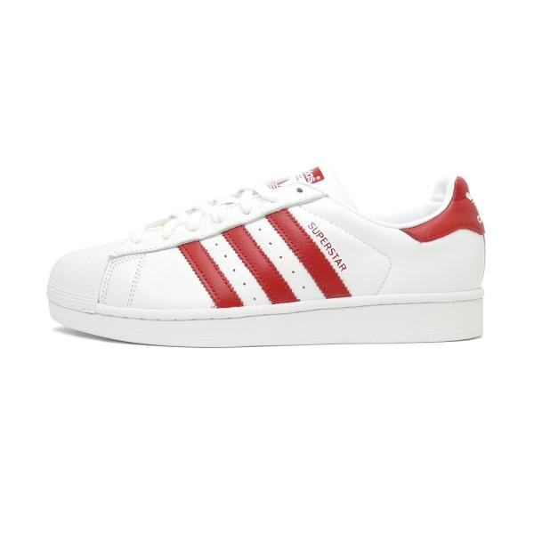 スニーカー アディダス adidas スーパースター ホワイト/レッド メンズ レディース シューズ 靴 19SS|mexico|02