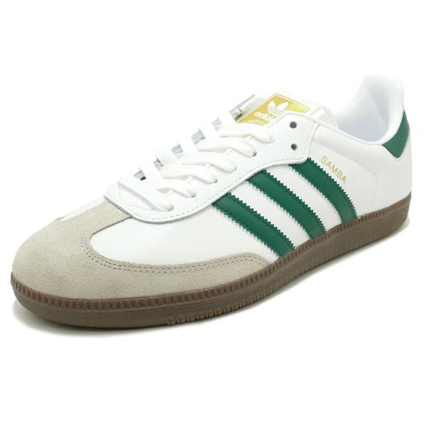 adidas Originals SAMBA OG 【アディダス オリジナルス サンバOG】 white/collegiate green/clear granite ホワイト/カレッジエイトグリーン/クリアグラナイト|mexico