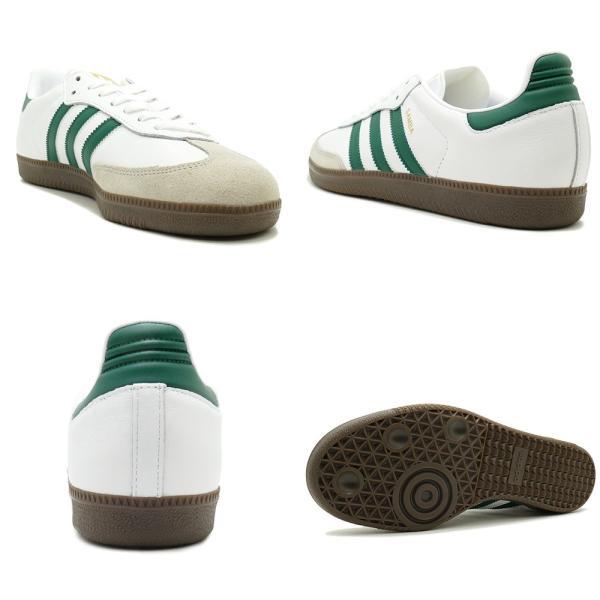 adidas Originals SAMBA OG 【アディダス オリジナルス サンバOG】 white/collegiate green/clear granite ホワイト/カレッジエイトグリーン/クリアグラナイト|mexico|03