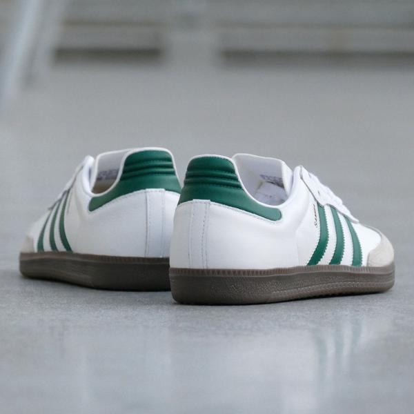 adidas Originals SAMBA OG【アディダス オリジナルス サンバOG】ランニングホワイト/カレッジエイトグリーン/クリアグラナイト mexico 05