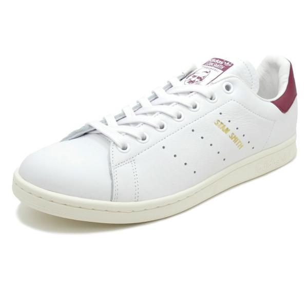 adidas Originals STAN SMITH【アディダス オリジナルス スタンスミス】running white/collegiate burgundy(ランニングホワイト/カレッジエイトバーガンディ)|mexico