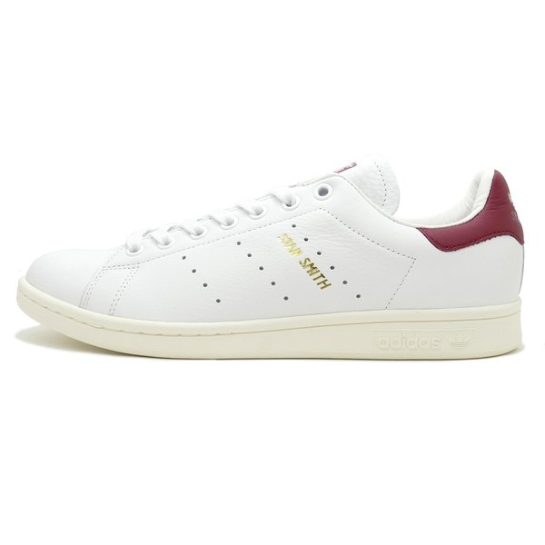 adidas Originals STAN SMITH【アディダス オリジナルス スタンスミス】running white/collegiate burgundy(ランニングホワイト/カレッジエイトバーガンディ)|mexico|02