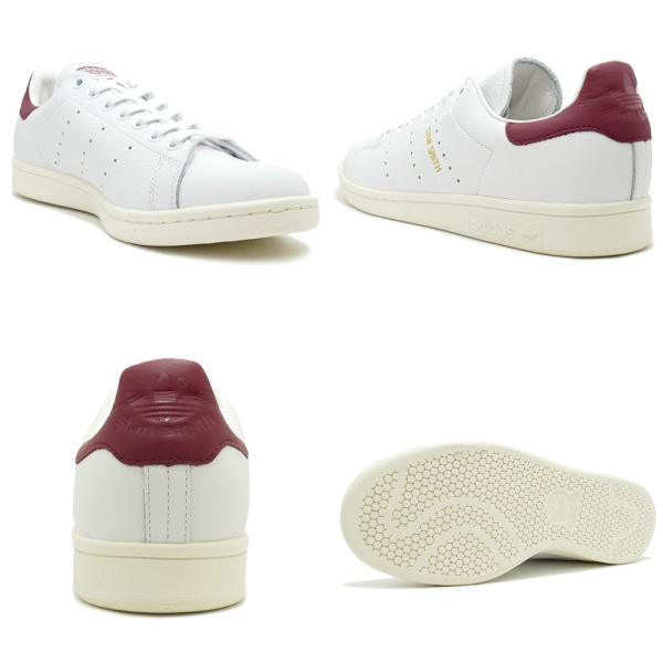 adidas Originals STAN SMITH【アディダス オリジナルス スタンスミス】running white/collegiate burgundy(ランニングホワイト/カレッジエイトバーガンディ)|mexico|03