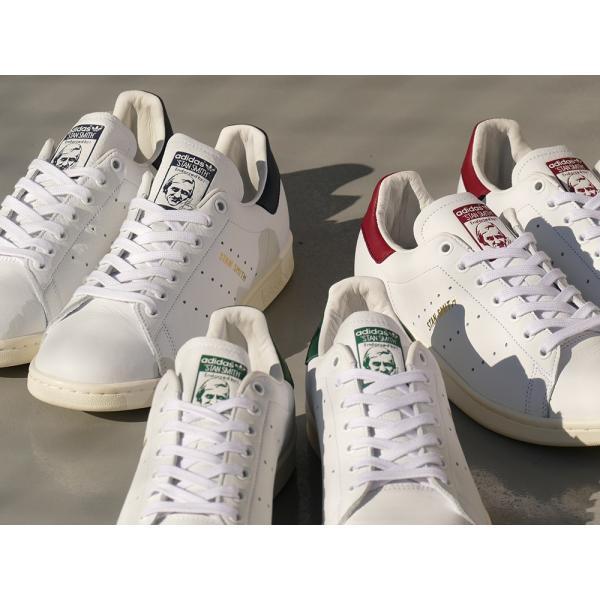 adidas Originals STAN SMITH【アディダス オリジナルス スタンスミス】running white/collegiate burgundy(ランニングホワイト/カレッジエイトバーガンディ)|mexico|04