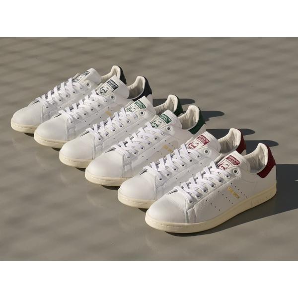 adidas Originals STAN SMITH【アディダス オリジナルス スタンスミス】running white/collegiate burgundy(ランニングホワイト/カレッジエイトバーガンディ)|mexico|05