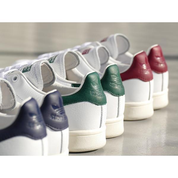 adidas Originals STAN SMITH【アディダス オリジナルス スタンスミス】running white/collegiate burgundy(ランニングホワイト/カレッジエイトバーガンディ)|mexico|06