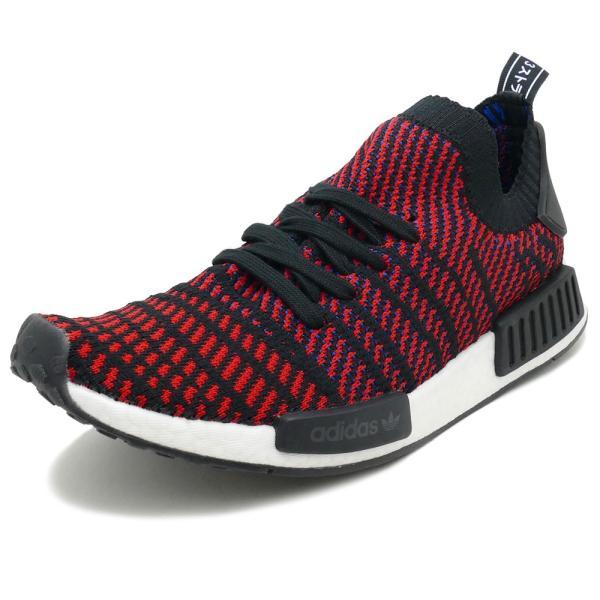 adidas Originals NMD R1 STLT PK 【アディダス オリジナルス エヌエムディーR1STLTPK】 core black/red-sld/blue (コアブラック/レッド/ブルー)  CQ2385 18SS|mexico