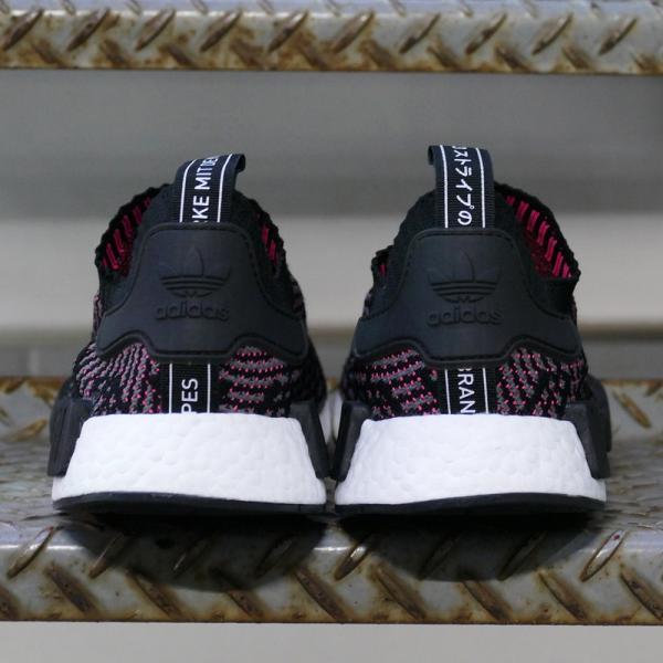 adidas originals NMD_R1 STLT PK【アディダス オリジナルス エヌエムディーR1STLTPK】コアブラック/グレーフォアF17/ソーラーピンク CQ2386 18SS|mexico|06