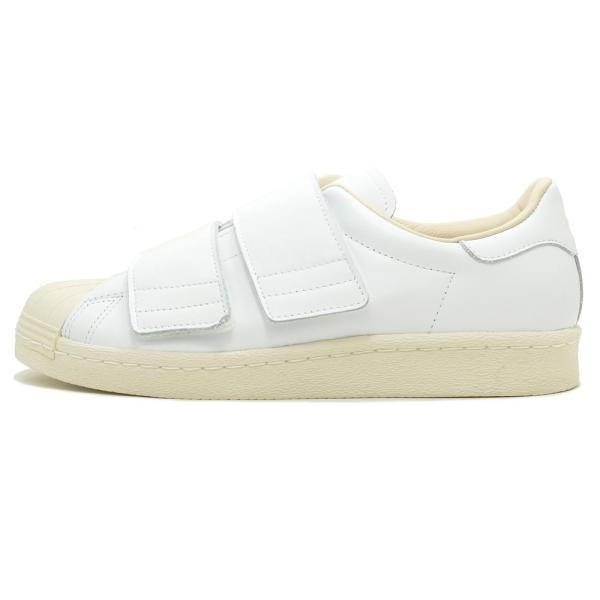 adidas Originals SS 80s VELCRO W【アディダス オリジナルス スーパースター80sベルクロウィメンズ】ランニングホワイト/ランニングホワイト/リネン 18SS|mexico|02