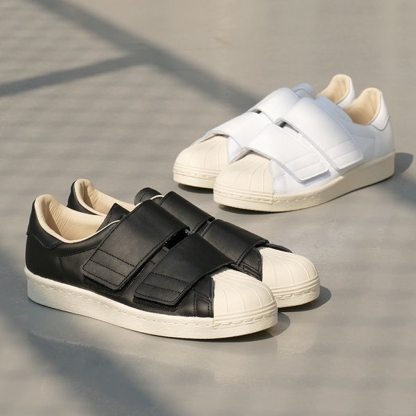 adidas Originals SS 80s VELCRO W【アディダス オリジナルス スーパースター80sベルクロウィメンズ】ランニングホワイト/ランニングホワイト/リネン 18SS|mexico|04