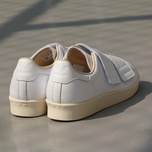 adidas Originals SS 80s VELCRO W【アディダス オリジナルス スーパースター80sベルクロウィメンズ】ランニングホワイト/ランニングホワイト/リネン 18SS|mexico|05