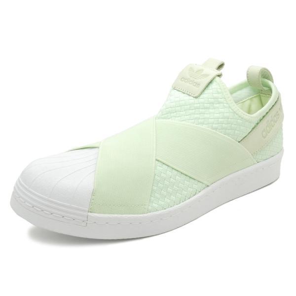 adidas Originals SS SlipOn【アディダス オリジナルス スーパースタースリッポン】(エアログリーン/エアログリーン/ランニングホワイト)CQ2488 18SS|mexico