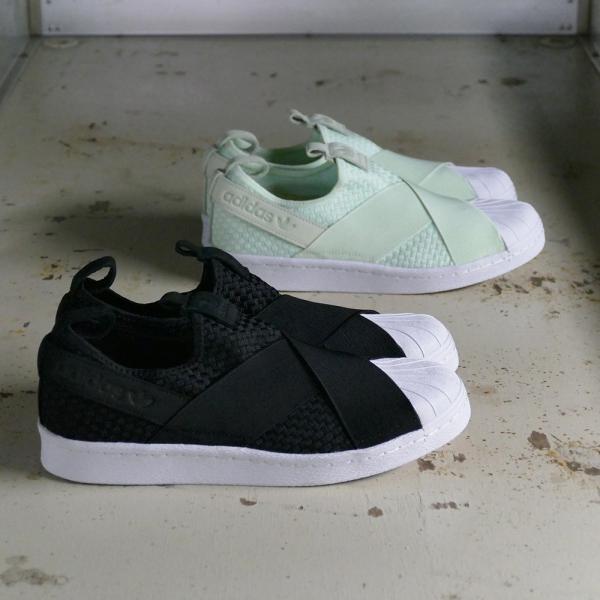 adidas Originals SS SlipOn【アディダス オリジナルス スーパースタースリッポン】(エアログリーン/エアログリーン/ランニングホワイト)CQ2488 18SS|mexico|04