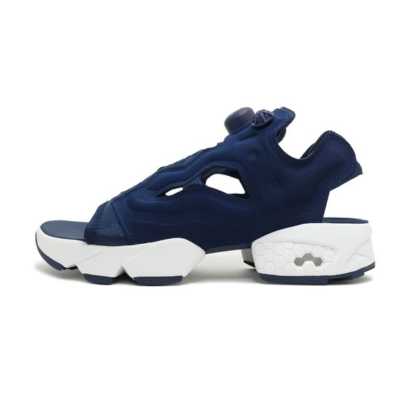 スニーカー リーボック REEBOK インスタポンプフューリーサンダル ネイビー/ホワイト メンズ レディース シューズ 靴|mexico|02