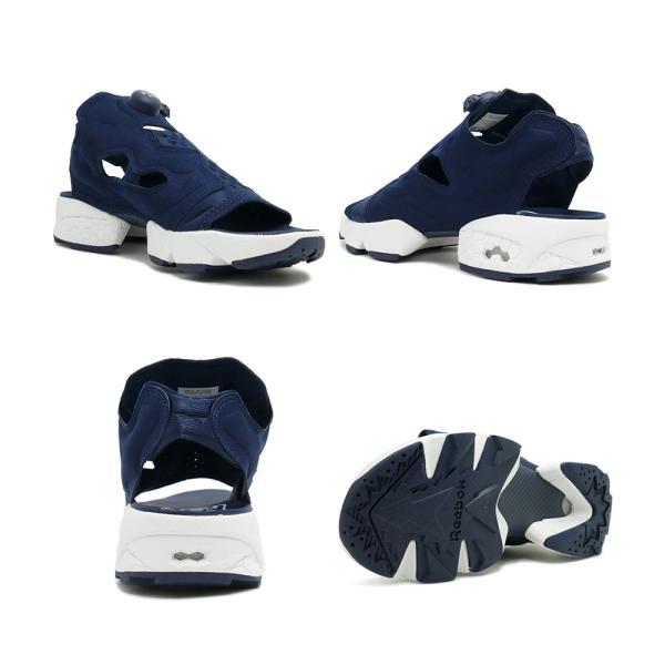 スニーカー リーボック REEBOK インスタポンプフューリーサンダル ネイビー/ホワイト メンズ レディース シューズ 靴|mexico|03