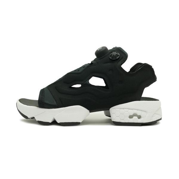 スニーカー リーボック REEBOK インスタポンプフューリーサンダル ブラック/ホワイト メンズ レディース シューズ 靴|mexico|02
