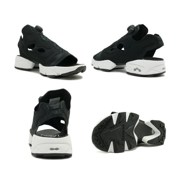 スニーカー リーボック REEBOK インスタポンプフューリーサンダル ブラック/ホワイト メンズ レディース シューズ 靴|mexico|03