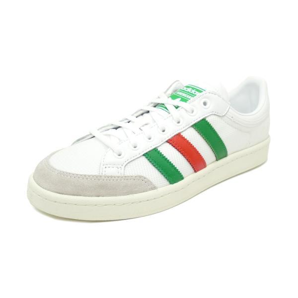 スニーカー アディダス adidas アメリカーナロー ランニングホワイト/グリーン/レッド メンズ レディース シューズ 靴 19FW|mexico