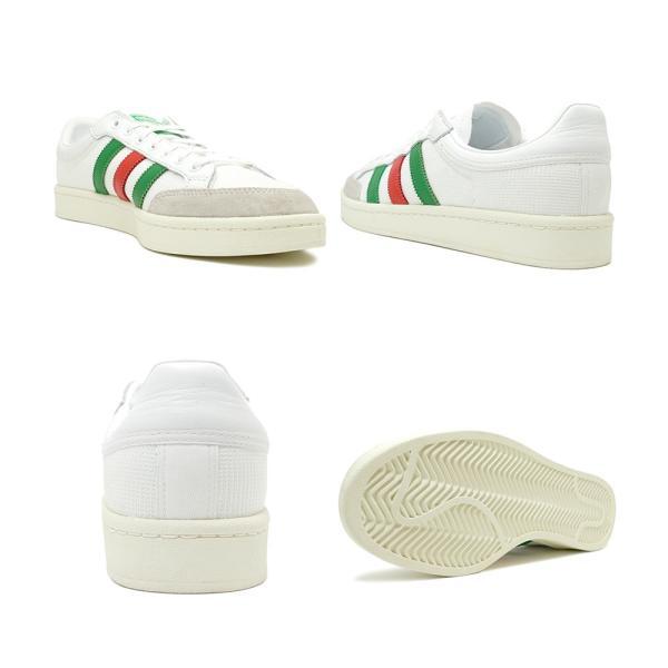 スニーカー アディダス adidas アメリカーナロー ランニングホワイト/グリーン/レッド メンズ レディース シューズ 靴 19FW|mexico|03