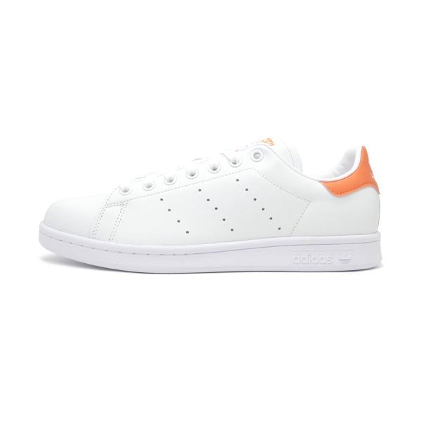 スニーカー アディダス adidas スタンスミス ホワイト/セミコーラル メンズ レディース シューズ 靴 19FW|mexico|02