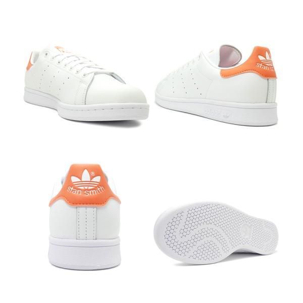 スニーカー アディダス adidas スタンスミス ホワイト/セミコーラル メンズ レディース シューズ 靴 19FW|mexico|03