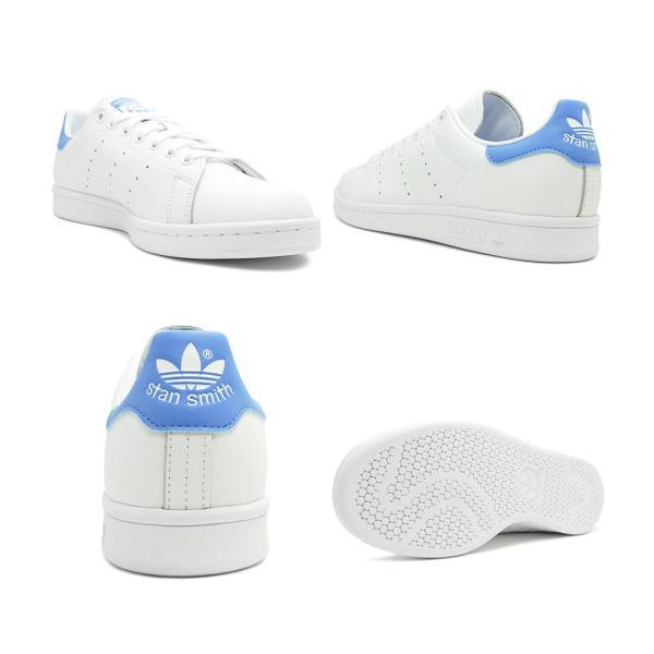 スニーカー アディダス adidas スタンスミス ランニングホワイト/リアルブルー メンズ レディース シューズ 靴 19FW|mexico|03