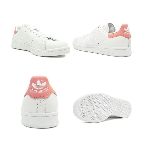 スニーカー アディダス adidas スタンスミス ランニングホワイト/タクティルローズ レディース シューズ 靴 19FW|mexico|03