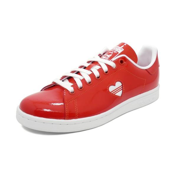 スニーカー アディダス adidas スタンスミスウィメンズ レッド/ホワイト レディース シューズ 靴 19SS|mexico