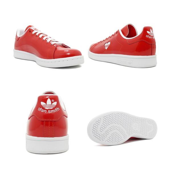 スニーカー アディダス adidas スタンスミスウィメンズ レッド/ホワイト レディース シューズ 靴 19SS|mexico|03