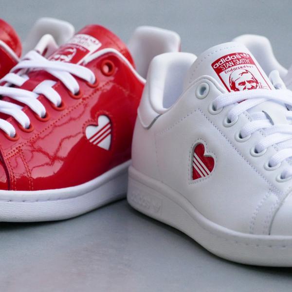 スニーカー アディダス adidas スタンスミスウィメンズ レッド/ホワイト レディース シューズ 靴 19SS|mexico|06