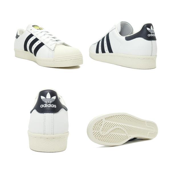 adidas Originals SUPER STAR 80s【アディダス オリジナルス スーパースター80s】white/black ホワイト/ブラック G61070|mexico|03
