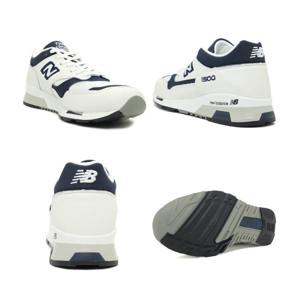 スニーカー ニューバランス NEW BALANCE M1500WWN ホワイト/ネイビー NB メンズ レディース シューズ 靴 19SS mexico 03