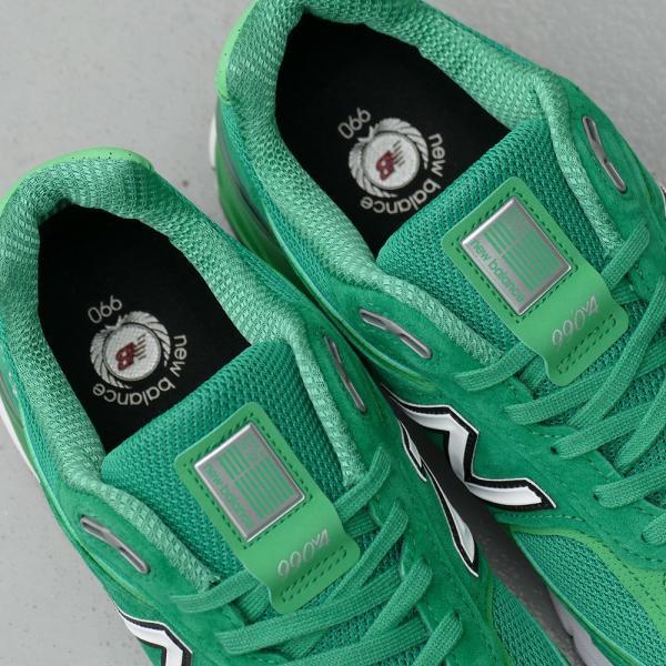 NEW BALANCE M990 NG4【ニューバランス M990NG4】green(グリーン)NB M990-NG4 18SS|mexico|06