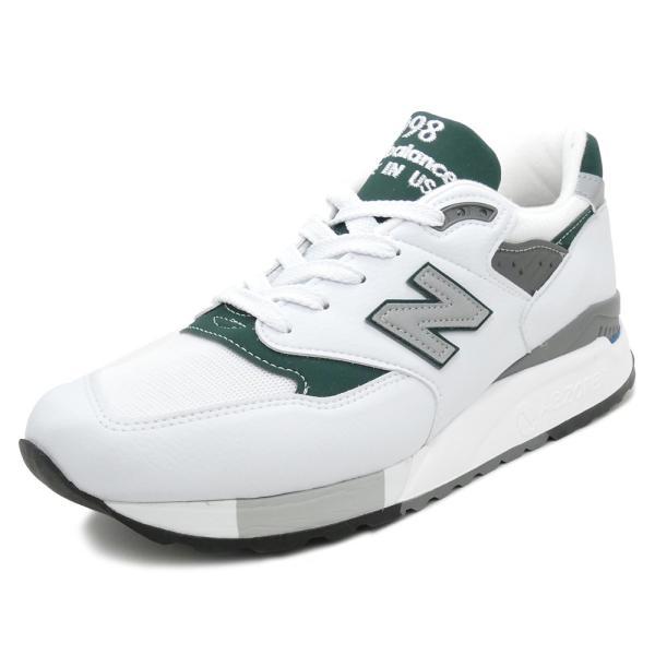 NEW BALANCE M998 JWG ニューバランス M998JWG white/green ホワイト/グリーン NB M998-JWG 18SS|mexico