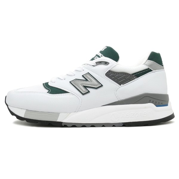 NEW BALANCE M998 JWG ニューバランス M998JWG white/green ホワイト/グリーン NB M998-JWG 18SS|mexico|02