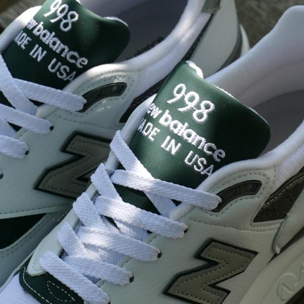 NEW BALANCE M998 JWG ニューバランス M998JWG white/green ホワイト/グリーン NB M998-JWG 18SS|mexico|05
