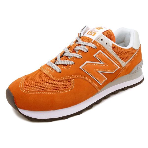NEW BALANCE ML574 EVO【ニューバランス ML574EVO】varsity orange(バーシティ オレンジ)NB ML574-EVO 18SS|mexico