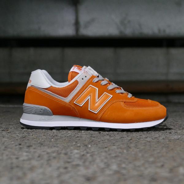 NEW BALANCE ML574 EVO【ニューバランス ML574EVO】varsity orange(バーシティ オレンジ)NB ML574-EVO 18SS|mexico|04