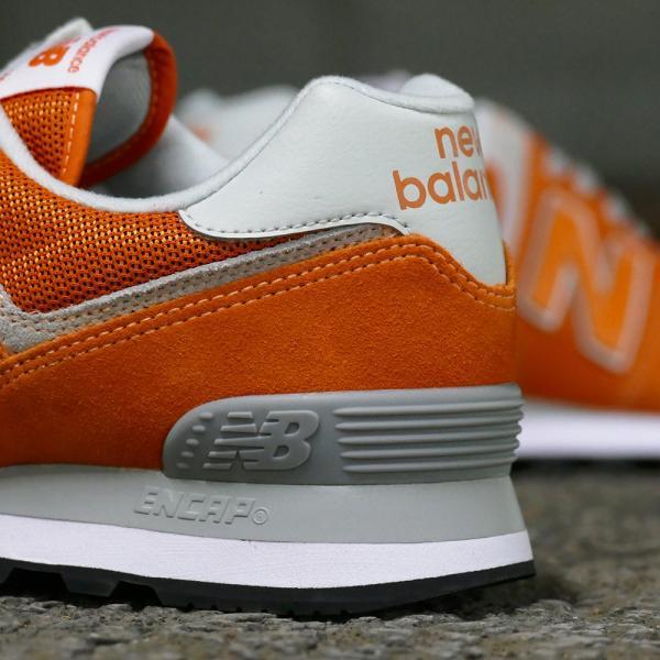 NEW BALANCE ML574 EVO【ニューバランス ML574EVO】varsity orange(バーシティ オレンジ)NB ML574-EVO 18SS|mexico|05