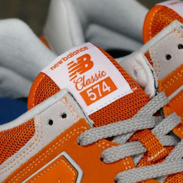 NEW BALANCE ML574 EVO【ニューバランス ML574EVO】varsity orange(バーシティ オレンジ)NB ML574-EVO 18SS|mexico|06
