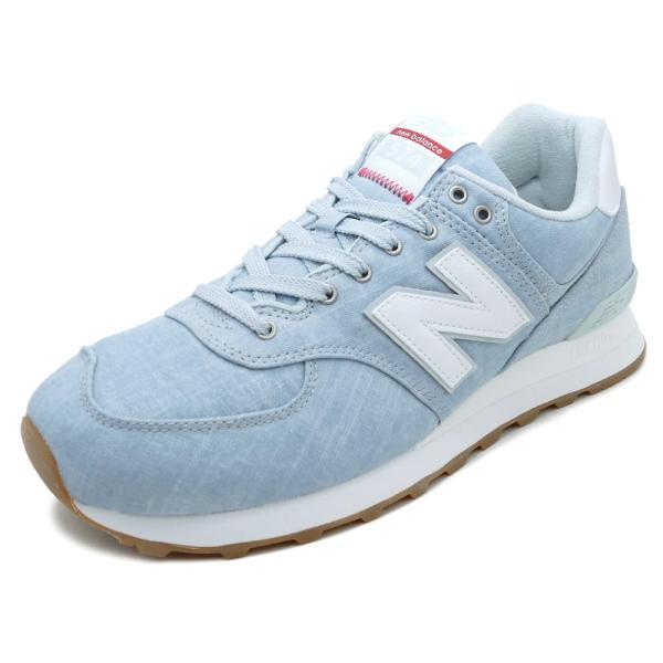 NEW BALANCE ML574 YLF【ニューバランス ML574YLF】light blue(ライトブルー)NB ML574-YLF 18SS mexico